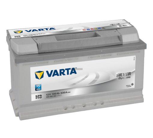 VARTA Silver Dynamic 100Ah jobb+(600402)