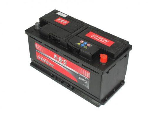 Autó Akkumulátor ABS 12V 100Ah Jobb+(600600)
