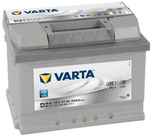 VARTA Silver Dynamic 61Ah jobb+(561400)