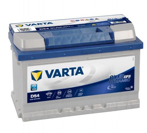 VARTA BLUE dynamic EF 12V 65Ah Jobb+(565500)