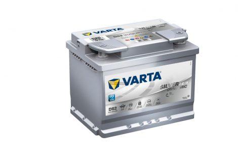 Start Stop Varta Silver Dynamic AGM 12V 60Ah jobb+(560901)
