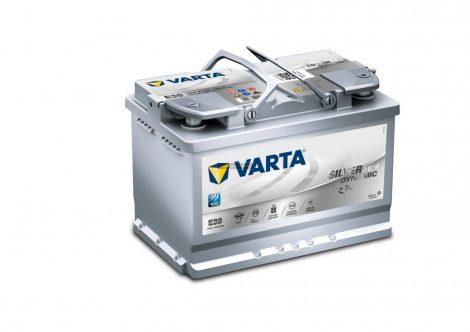 Start Stop Varta Silver Dynamic AGM 12V 70Ah Jobb+(570901)