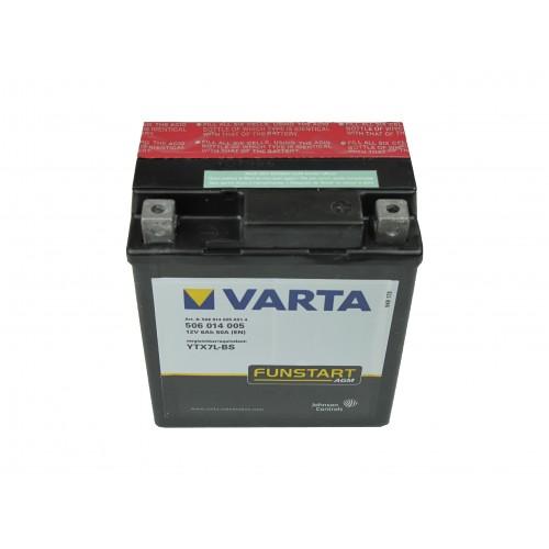 Varta Motor akkumulátor 12V 6Ah 506014 YTX7L-BS