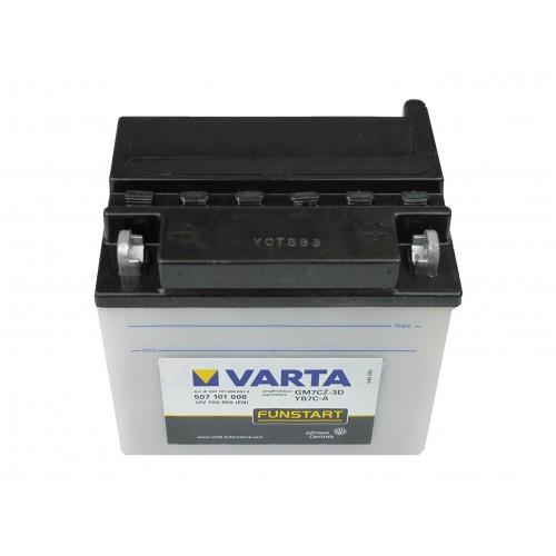 Varta Motor akkumulátor 12V 7Ah 507101 YB7C-A