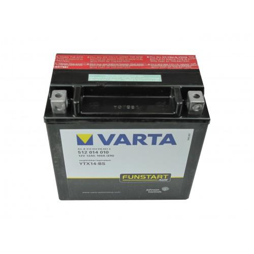 Motor akkumulátor Varta 12V 12Ah 512014 YTX14-BS