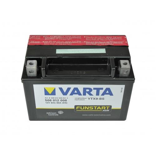 Motor akkumulátor Varta 12V 8Ah 508012 YTX9-BS