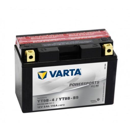 Motor akkumulátor Varta 12V 9Ah 509902 YT9B-BS