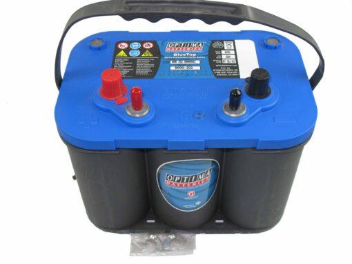 Autó akkumulátor Optima Blue Top 12V 50Ah  806252