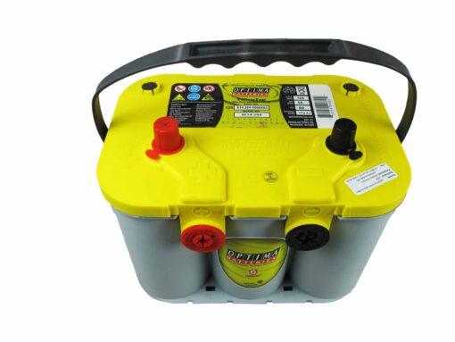 Autó akkumulátor Optima Yellow Top 12V 55Ah  814254