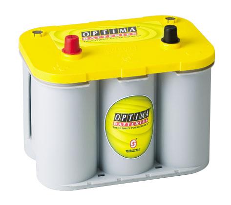 Autó akkumulátor Optima Yellow Top 12V 48Ah  840222
