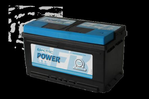 12V 80Ah J+ Electric Power Start Stop akkumulator