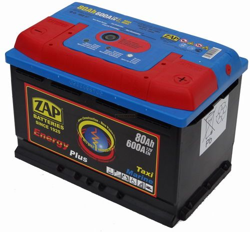 Zap Energy Plus Munka Akkumulátor 12V 80Ah J+
