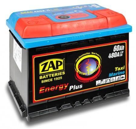 Zap Energy Plus Munka Akkumulátor 12V 60Ah J+